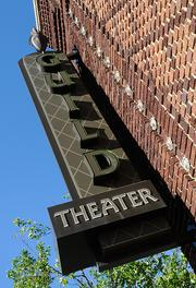 The Guild Theater is part of the 40 Acres building in Oak Park.
