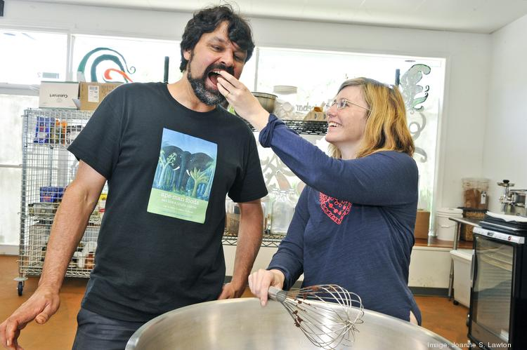 Ape Man Foods founder Valerie Grissom built a business around raw, vegan recipes that she would whip up for husband Samu Qureshi.