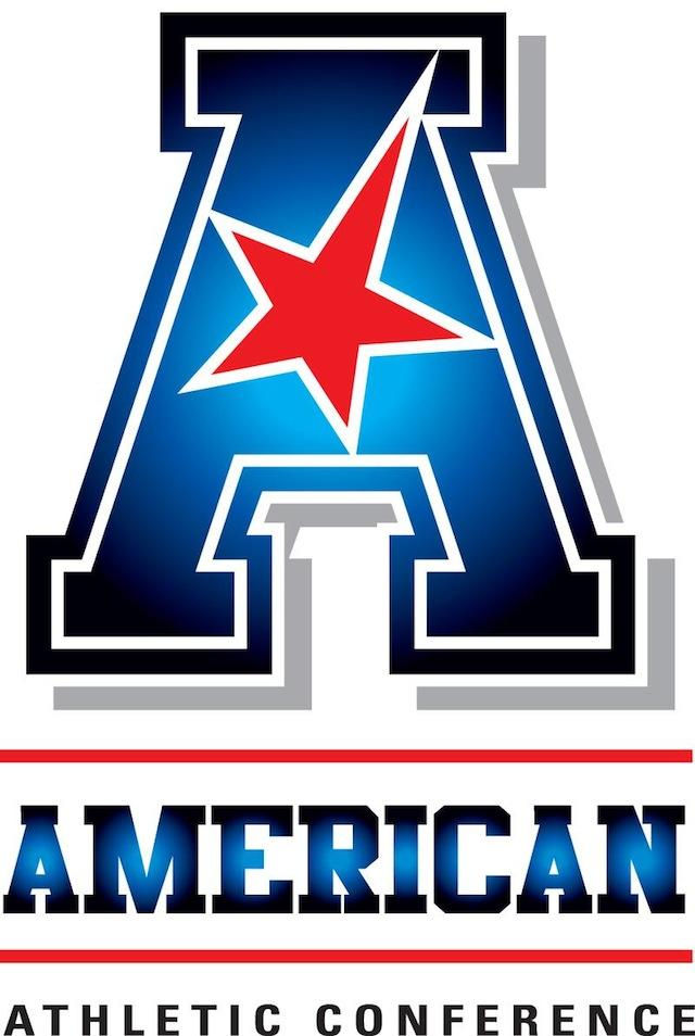 The American Athletic Conference's logo.