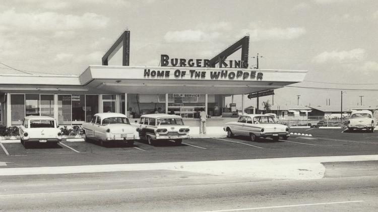 Throwback Thursday Burger King Opened First Store In Miami