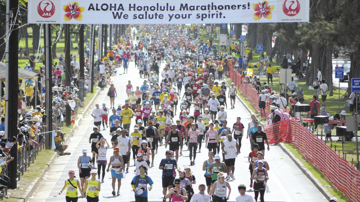 Japan recession fails to slow Honolulu Marathon