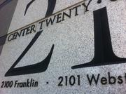 2100 Franklin is part of a two-building complex called Center Twenty One.