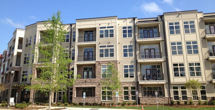 The Lofts at Weston in Cary was a joint venture between Northwood Ravin of Charlotte and Highwoods Properties.