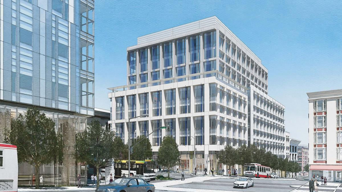 First look 168m medical office space to rise next to - San francisco tourist information office ...