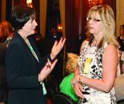 Colleen Redshaw, left, of Predictive Synergistic Systems and Dee Palaschak of Sisterson & Co.