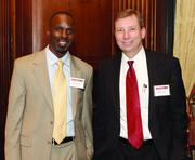 Bank of America's Carlos Carter, left, and Michael Nowicki.