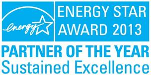 Transwestern has won the 2013 Energy Star Award — Partner of the Year for Sustained Excellence.
