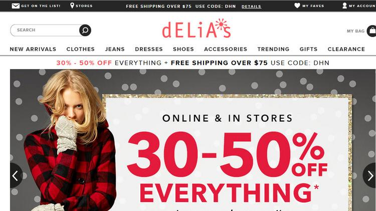What are some stores like delias?