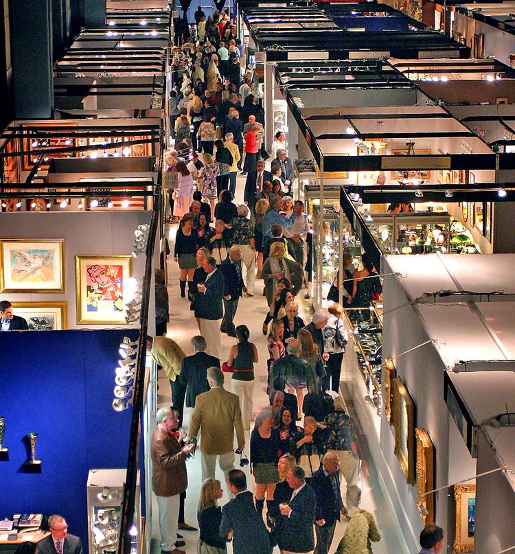 Scott Diament's annual Palm Beach Jewelry, Art & Antique Show is a well-established event in South Florida. Diament hopes to make a mark in Chicago with his new show too.