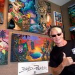 Hawaii's Tiki Shark Art sells out LA art show two years in advance