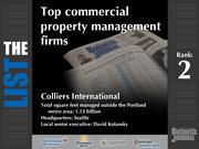 2: Colliers International