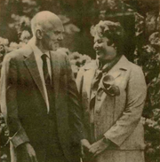 Vollum and his wife, Jean, in an image Tekweek said was provided by St. Vincent Hospital.
