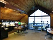 Architecture firm api+ remodeled their tree-house style office overlooking Tampa Bay in 2003.