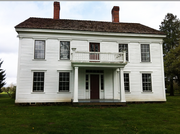 Bybee Howell House, among some 250 Oregon Trail pioneer homes and farmsteads in the Willamette Valley.