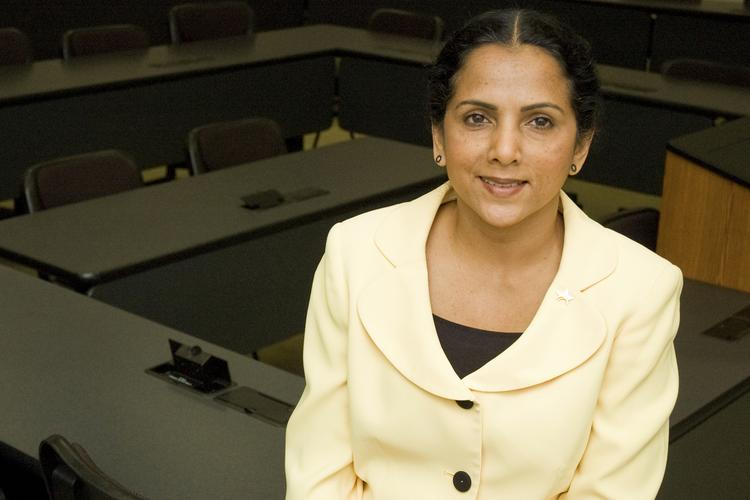 Beena George is the new dean of the Cameron School of Business at the University of St. Thomas in Houston.