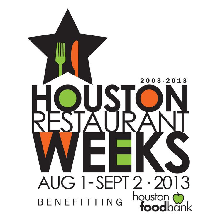 The 2013 Houston Restaurant Weeks fundraiser runs Aug. 1-Sept. 2.  Click here to see some of the restaurants that participated last year.