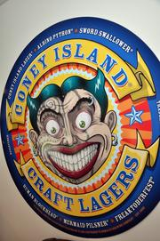 The Coney Island Lagers label ranks among Shmaltz's top sellers.