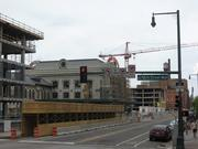 A look at progress on construction at and around Denver Union Station, shot May 25, 2013.