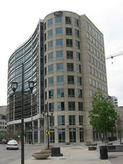 The Gates Corp. headquarters near Denver Union Station.