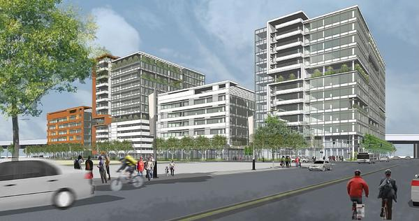 Kilroy Mission Bay Block 40 Rendering Wide