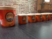 New single-serve portions come with a spoon and will be available for events and venues to order.