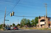 The site is across the street from the Long Animal Hospital under construction next to Mac's SpeedShop.
