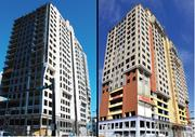 """Click here for a tidbit from this week's Table Talk: Work on the long-abandoned condo tower at Third and Caldwell streets uptown has apparently gone too good, too fast in at least one case -- the building was passed over as a potential shooting location for Homeland because it's now """"too nice."""""""