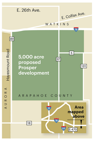New Community Proposed East Of Aurora