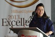 Fund for the Arts president and CEO Barbara Sexton Smith also spoke during the awards program.