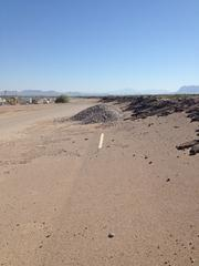 The former test track at the GM Proving Grounds in Mesa. The area is now being built into the Eastmark development. Grand Canyon University is planning a new campus there.