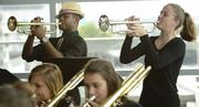 Ballard High School students performed during the Hilliard Lyons 2013 Excellence Awards dinner.