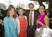 Dotti Reeder, Susan Hoff, Steve Hoff and Janiece Evans-Page at the Outstanding Directors Awards.