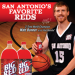 Spurs' 'Red Mamba' to pitch Big Red soda as celebrity spokesman
