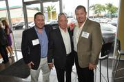 Honorees Michael Curry Jr., Mickey Curry and Terry Smith with Atlantic Southern Paving & Sealcoating.