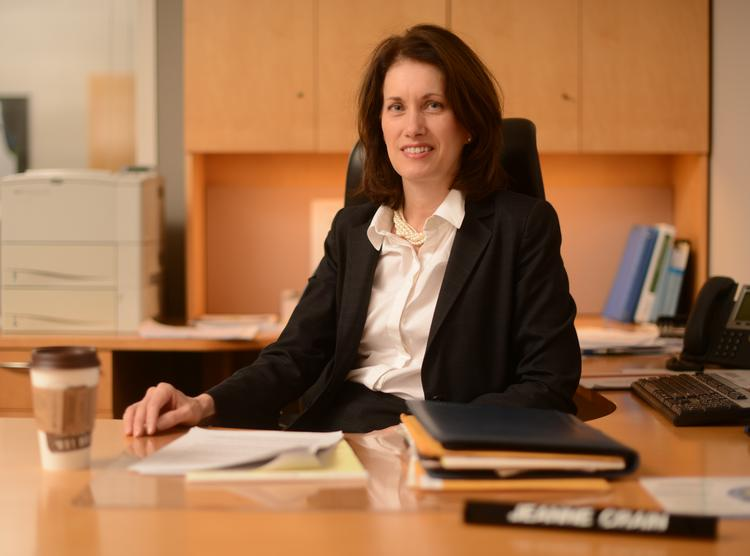 Jeanne Crain became Twin Cities CEO for Bremer Bank in 2012.