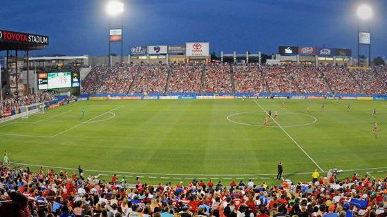 Gold Cup Game At Frisco S Toyota Stadium To Bring Economic