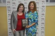 Melanie Dickinson and Sylvia Alayon with First Equity Mortgage Bankers.