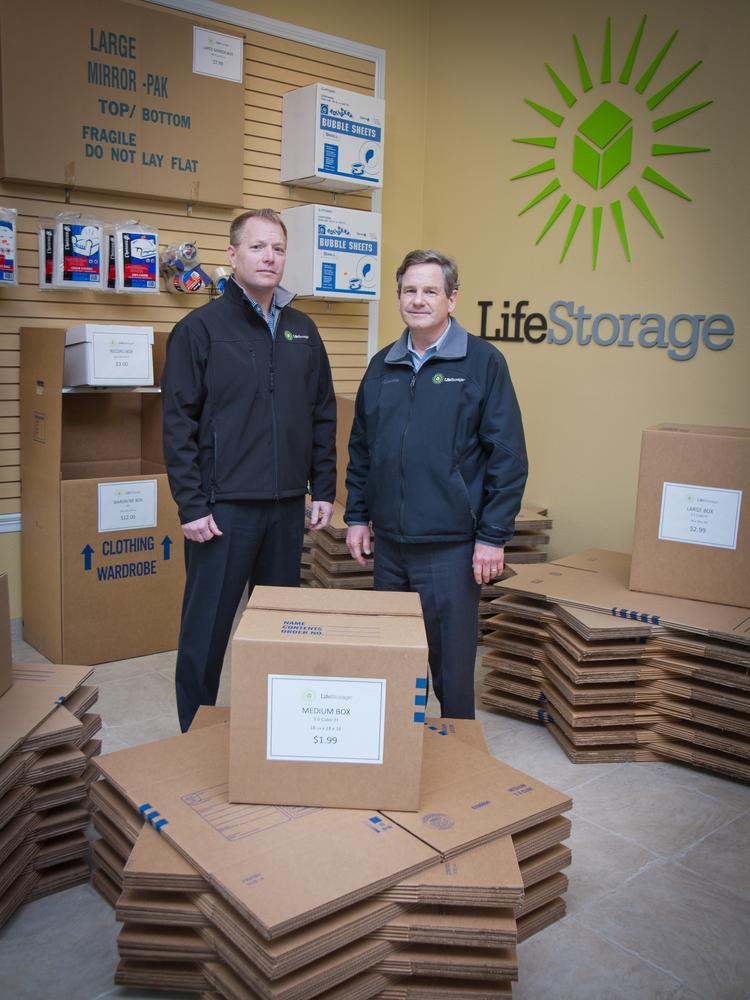 Keith Gee And CEO Mark Good Help Oversee LifeStorage. The Storage Company  Is Getting Ready