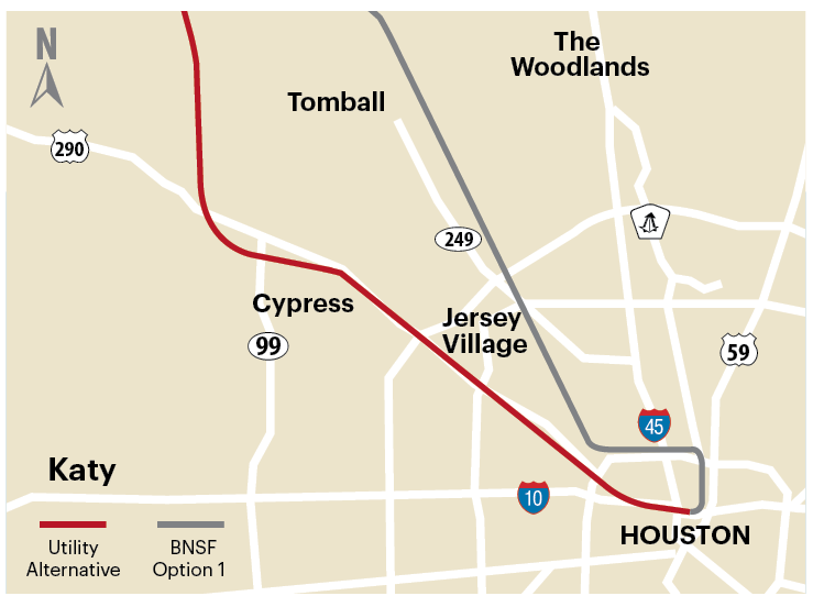 The Texas Central Railway To Develop Highspeed Rail May Cut The - Texas high speed rail map