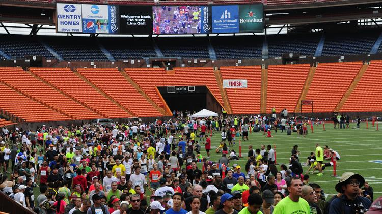 State plans $1 5M project to replace Aloha Stadium field