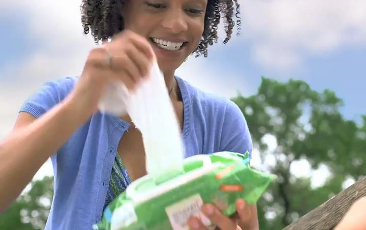 More women are household breadwinners. They may wear the pants, but they still pick the diapers – and domestic product brands know it, as this Seventh Generation ad shows.
