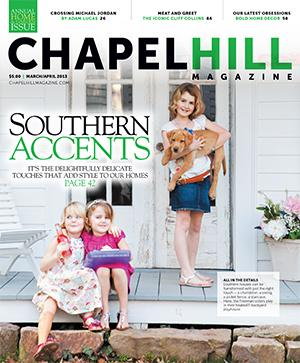 The March issue of Chapel Hill Magazine