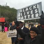 Black Lives Matter protest slows business at The Summit