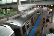 """Hop on the """"L"""" at Midway for a relatively quick trip into the heart of Chicago."""