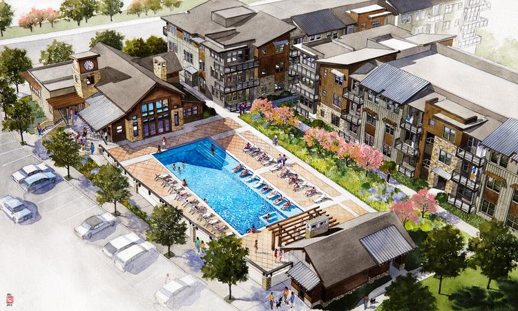 The Lynd Co. picks up management of under-construction North Main Apartments at Steel Ranch in Louisville, by Confluence Cos.