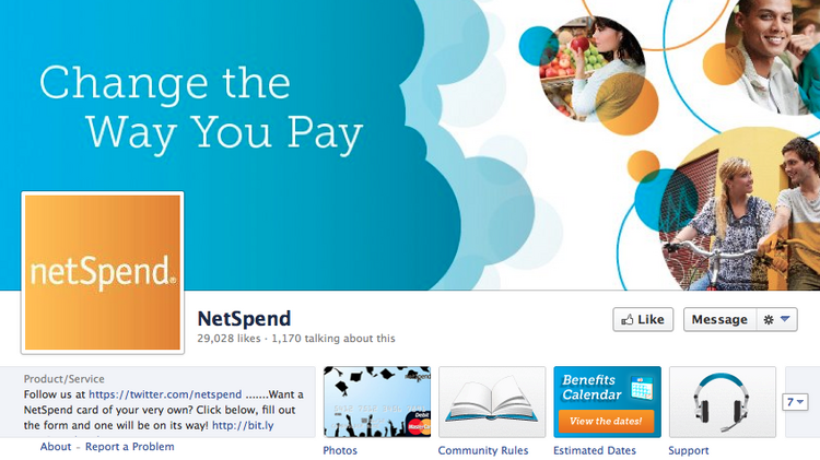 "NetSpend was started in the late 1990s to facilitate Web payments and provide the ""unbanked"" with debit cards."