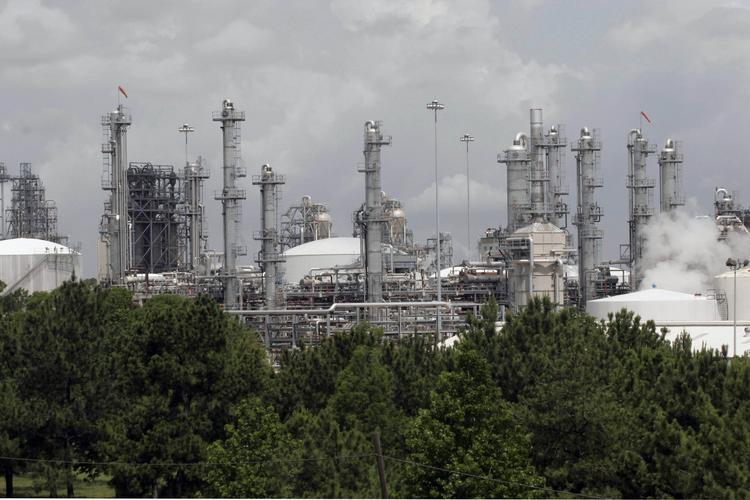 The Woodlands-based Chevron Phillips, whose Baytown plant is pictured here, is on the list of the world's top chemical companies.
