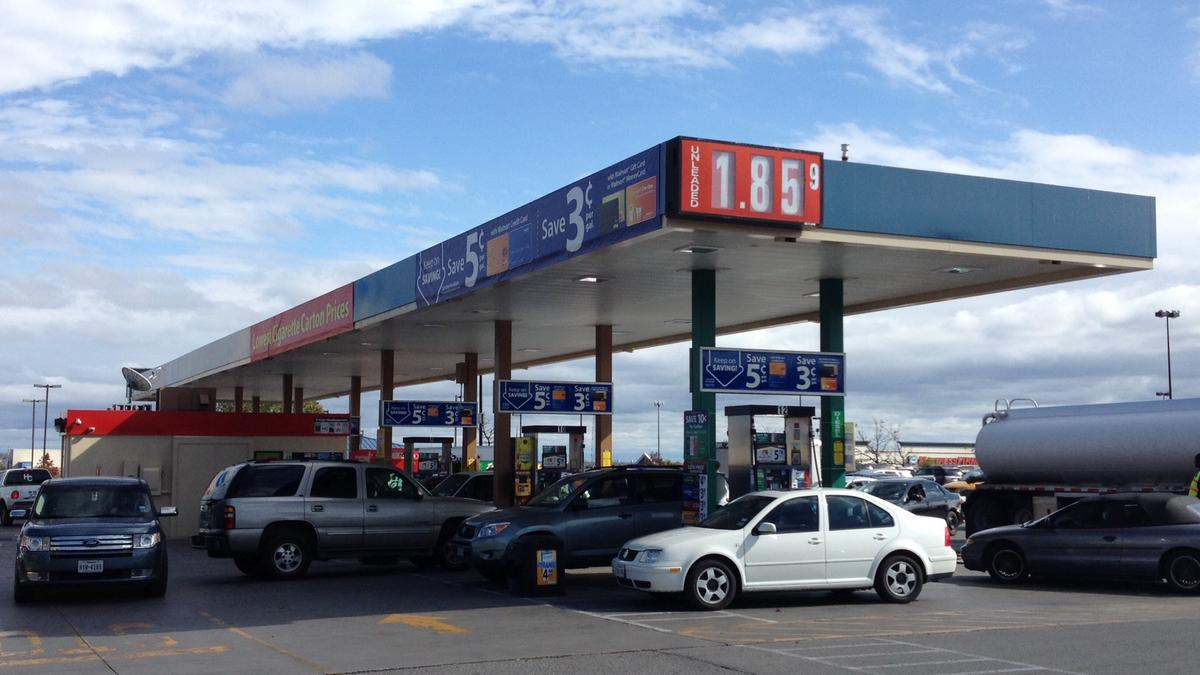Cheapest Car On Gas >> Gas for $1.85 at San Antonio Walmart - San Antonio Business Journal
