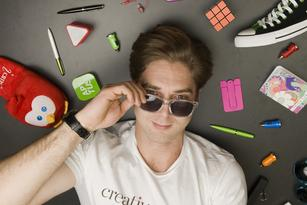 Creative Marketing chief Zachary Tyler is the king of swag
