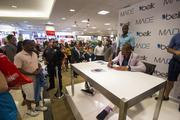 Carolina Panthers quarterback Cam Newton signed autographs this week at the Belk store in SouthPark mall, a promotion for his newly launched line of menswear. While at the mall, the NFL player talked with senior staff writer Erik Spanberg and other reporters. Click here to read Cam's take on War Eagles, fashion and other topics.
